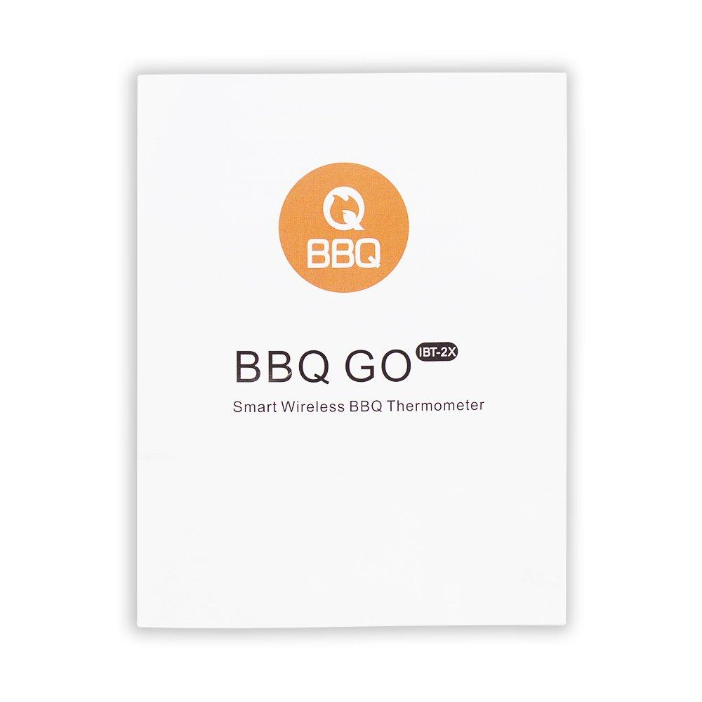 top /& iOS 7 Inkbird BBQ Thermom/ètre /à viande Bluetooth 4.0 avec thermom/ètre /à viande et thermom/ètre /à viande avec alarme de temp/érature en acier inoxydable et capteur de temp/érature pour Android 4.4
