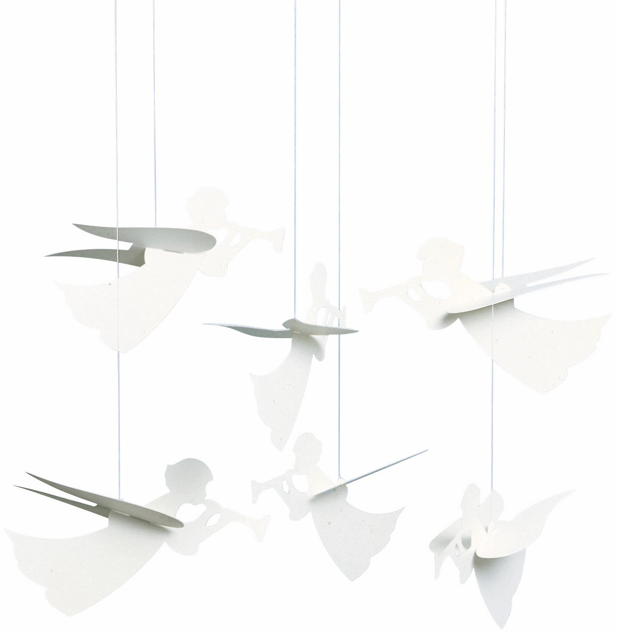 Flensted Mobiles Angel Hanging Mobile - 16 Inches Cardboard f023