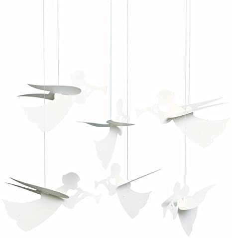 Flensted Mobiles Angel Hanging Mobile - 16 Inches Cardboard on my xbox home, my alabama home, my minimalist home,