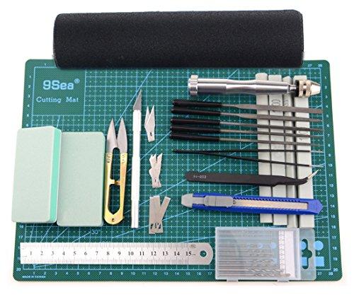 bxqinlenx-25-pcs-gundam-modeler-basic-tools-craft-set-for-car-model-assemble-buildinge