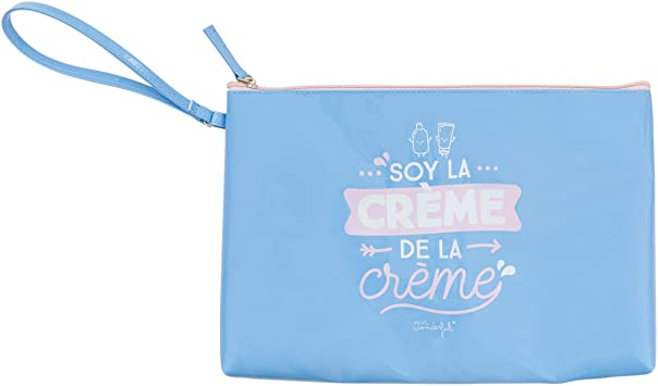 Mr. Wonderful Soy La Creme De La Creme Neceseres, 30 cm, litros, Azul: Amazon.es: Equipaje