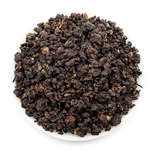 Oriarm 250g / 8.82oz Gaba Oolong Tea Loose Leaf - Taiwanese High Mountain Wulong Black Tea Leaves - Relaxation Sleep - Wulong Leaf Tea