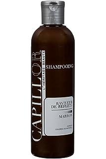shampoing colorant marron pour cheveux brun ou chatain shampoing professionnel sans silicone avec coloration temporaire - Shampoing Colorant Acajou