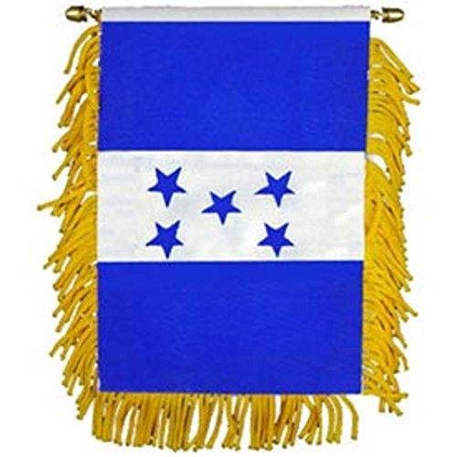 """Findingking honduras flag mini banner 3\"""" x 5\"""""""