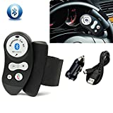 Steering Wheel Hands Free Wireless Bluetooth Car Speaker Phone Kit For iPhone 6,iPhone5s