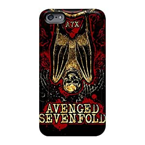 Apple Iphone 6 Knl13094vRLN Support Personal Customs Vivid Avenged Sevenfold Skin Anti-Scratch Hard Cell-phone Cases -JohnPrimeauMaurice