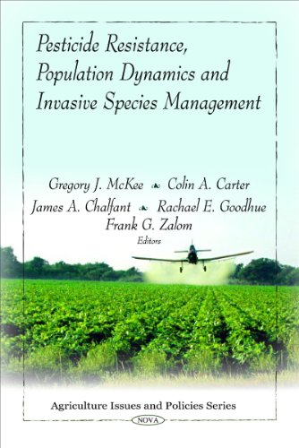 (Pesticide Resistance, Population Dynamics and Invasive Species Management (Agriculture Issues and Policies Series))