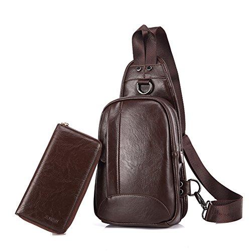 Bolso Mensajero/pequeño cofre Pack de los hombres/Versión masculina Coreano de deportes al aire libre los bolsillos/mochila ciclismo de ocio/mama bolsas de los hombres-B B