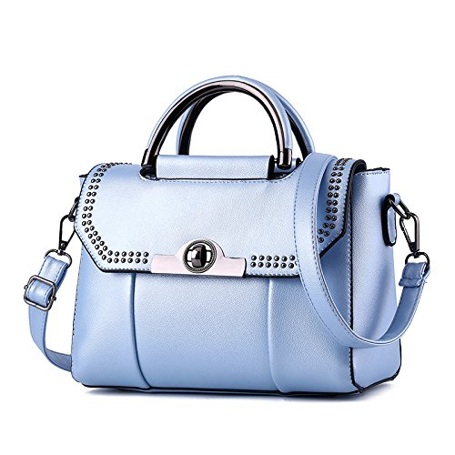Hombro Mini Bolso De Lady Meoaeo Blue Match Coreana All Claret Moda 16gq7n