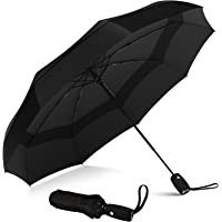 Repel Umbrella Windproof Travel Umbrella - Compact, Light, Automatic, Strong and Portable - Wind Resistant, Small…