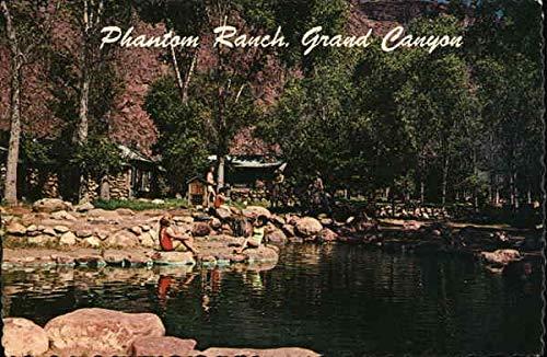 Phantom Ranch Swimming Pool, Grand Canyon National Park, Arizona Original Vintage Postcard from CardCow Vintage Postcards