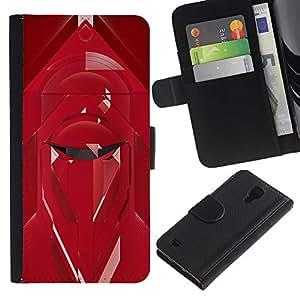 ARTCO Cases - Samsung Galaxy S4 IV I9500 - Star Galaxy Emporer Royal Guard Art - Cuero PU Delgado caso Billetera cubierta Shell Armor Funda Case Cover Wallet Credit Card