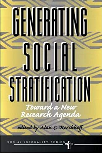 Amazon.com: Generating Social Stratification: Toward A New ...