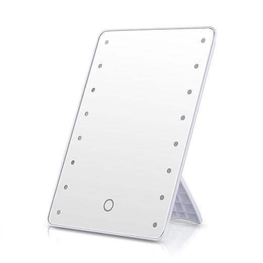67 opinioni per Ovonni LED Dello Schermo Tocco Dello Specchio Trucco Portatile 16 LED