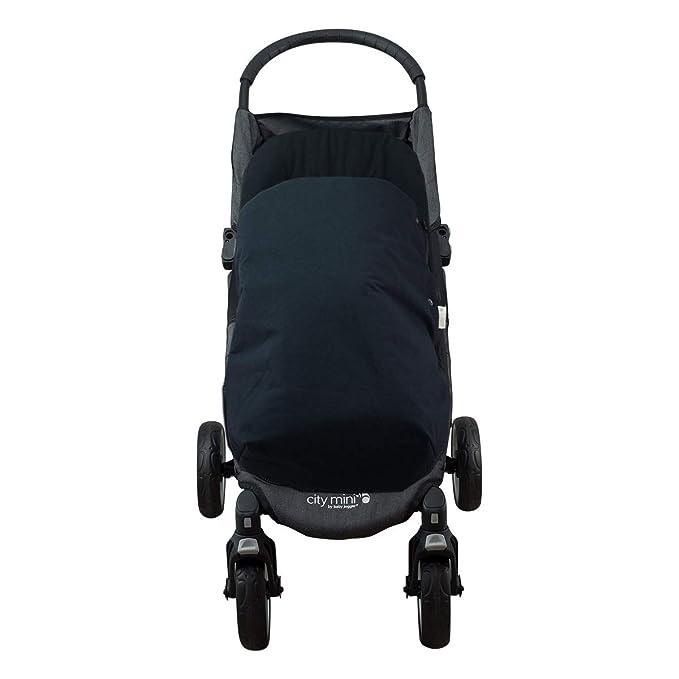 JANABEBE Saco para Baby jogger city mini, Impermeabilizado (BLACK SERIES, ALGODÓN): Amazon.es: Bebé