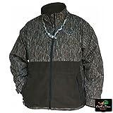 Drake Men's MST Eqwader Plus Full Zip (Large, Mossy Oak Bottomland)