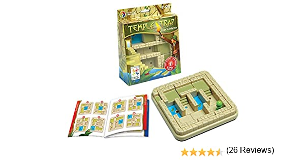 Smart - Atrapado en el Templo, Juego de ingenio con retos (51601): Amazon.es: Juguetes y juegos