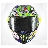 AGV Pista GP-R Limited Edition Rossi Mugello 2017 Carbon Fiber Helmet (Medium Small)