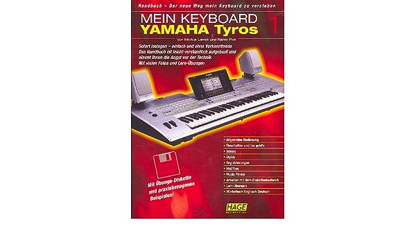 Mein Keyboard: Yamaha Tyros 1: Lamek, Markus: Amazon.es ...