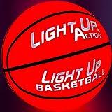 Light Up Action Basketball Chrome Edition Light Up Basketball