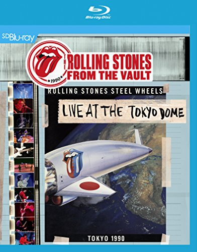 Blu-ray : The Rolling Stones - From the Vault: Live at the Tokyo Dome 1990 (With CD, 3 Disc)