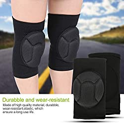 ZJchao Knee Brace Support Elastic Compression Sleeve for Running,Hiking, Camping, Football, Basketball, Volleyball,Riding and Relieve Pain for Knee