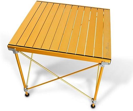 Gghy-camping tables Adecuado para Picnic al Aire Libre con Mesa de ...