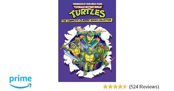 Amazon.com: Teenage Mutant Ninja Turtles: Complete ...
