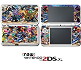 Super Smash Bros Ultimate Mario Zelda Sonic Video Game Vinyl Decal Skin Sticker Cover for Nintendo New 2DS XL System Console