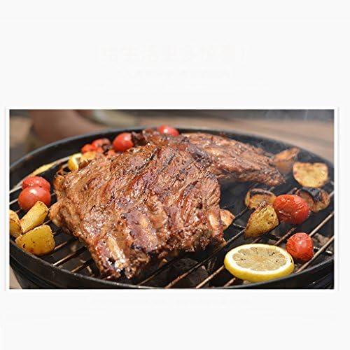 kaolou Barbecue américain Barbecue au charbon de bois poêle sauvage ensemble complet de pique-nique en plein air pour le barbecue domestique 3 personnes -5 personnes