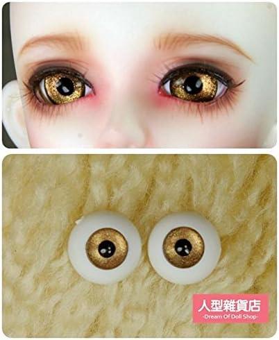 14mm  For BJD DOD AOD MK OK RD Doll Dollfie Glass Eyes Outfit  31