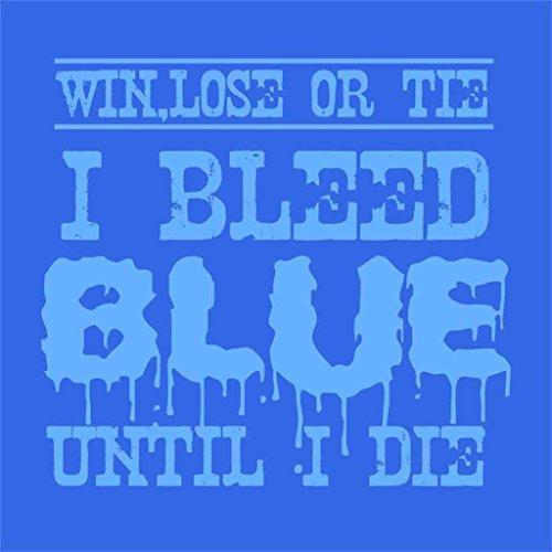BonOrganik Bleed Blue Until I Die dad /& Son tees