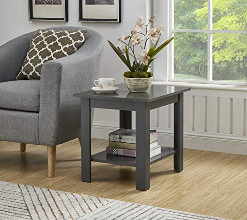 Deal of the week: GTU Furniture Two Layers Home End Table Grey