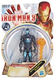 iron man 3 toys - Iron Man 3 Hydro Shock Iron Man 3.75 inch Action Figure