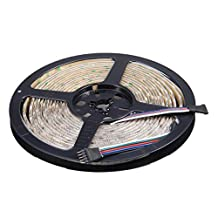 NEWSTYLE Waterproof IP65 RGBW LED Strip Lights 5050 SMD RGB Cool white Mixed Color LED Strip Lighting 5M 300LEDs LED Roll