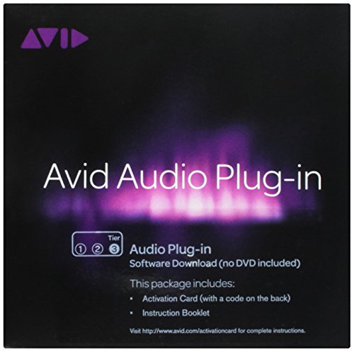 Pro Tools Tier 3 Audio Plug-In for PC and Mac Activation Card Windows|Mac 99006543900