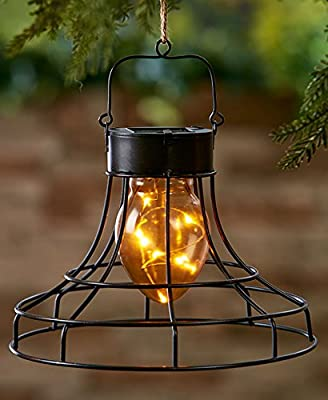 The Lakeside Collection Flared Caged Fairy Lanterns