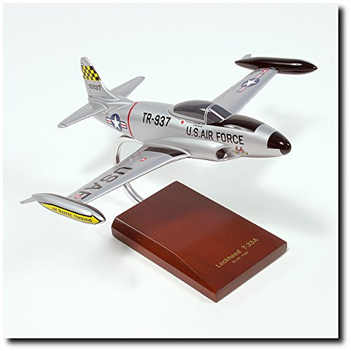 Planejunkie Aviation Desktop Model - Lockheed T-33A Shooting Star Model