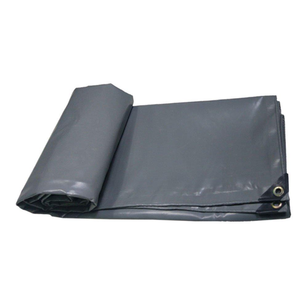 All'aperto Tela impermeabilizzata ignifuga camion panno di stoffa tettoia esterna tenda panno ad alta temperatura resistenza all'usura resistenza alla corrosione, grigio