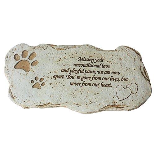 Paw Prints Stepping Stone - 9