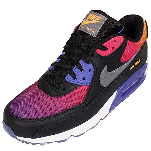 Nike Air Max 90 SD - Black / Persian Violet-Pink Force-Cool Grey, 8.5 D US