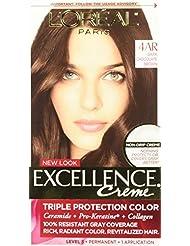 L'Oreal Paris Excellence Creme, 4AR Dark Chocolate Brown