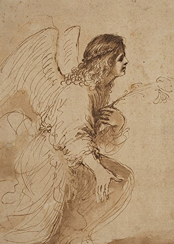 Angel Annunciation - 5 x 7 Christmas Museum Card