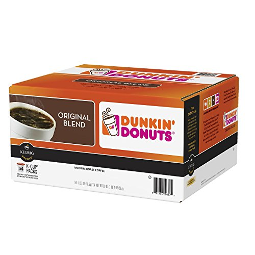 Dunkin' Donuts Original Blend Medium Roast (54 K-Cups) (pack of 6) by Dunkin' Donuts