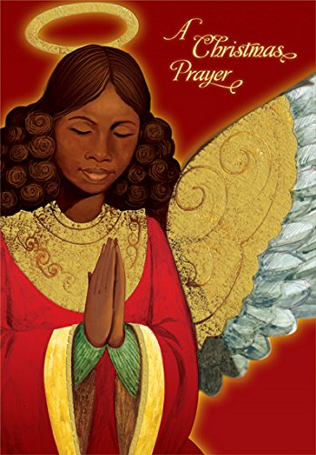 Search : Angel Praying: African American - Designer Greetings Box of 18 Christmas Cards