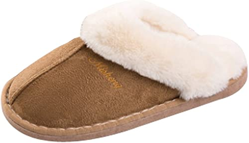 Cattior Womens Cute Warm Slippers Bear Slippers