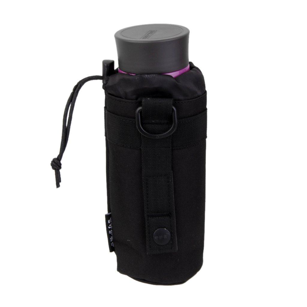 SUNVP Taktische Milit/ärwasser-Flaschenhalter-Beutel Wasserdichte Molle-Kessel-Beutel-Beutel-F/ördermaschine f/ür das Kampieren-Wandern Laufen