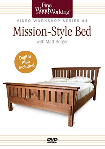 Fine Woodworking Video Workshop Series - Mission-Style Bed