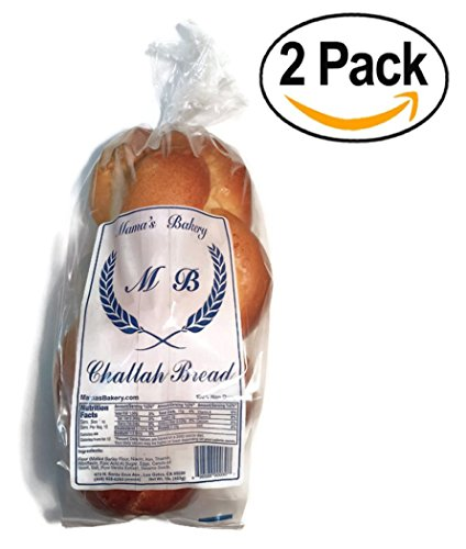 Mamas Bakery Challah Bread Pack of 2 ()