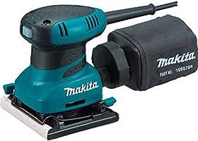 Makita BO4556 Lijadora para acabados, 11.4 cm x 10.2 cm, 14,000 oscilaciones por minuto